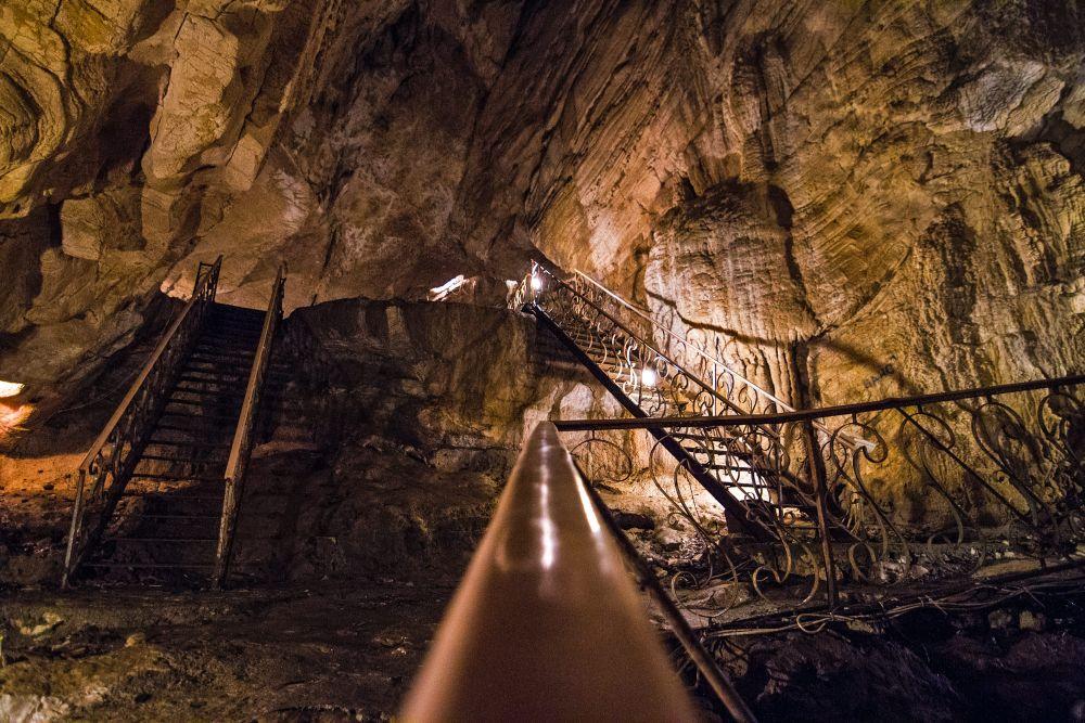 Воронцовские пещеры на территории Сочинского национального парка
