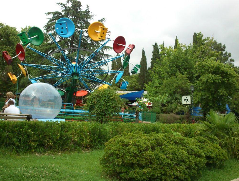 В парке более 70 аттракционов