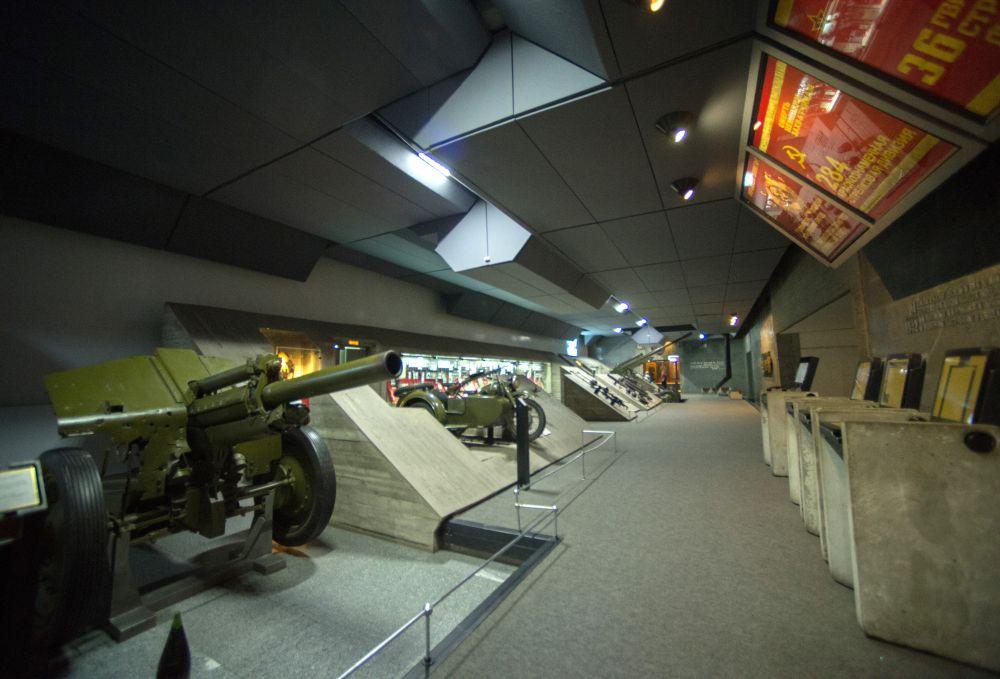 В экспозиционных залах музея