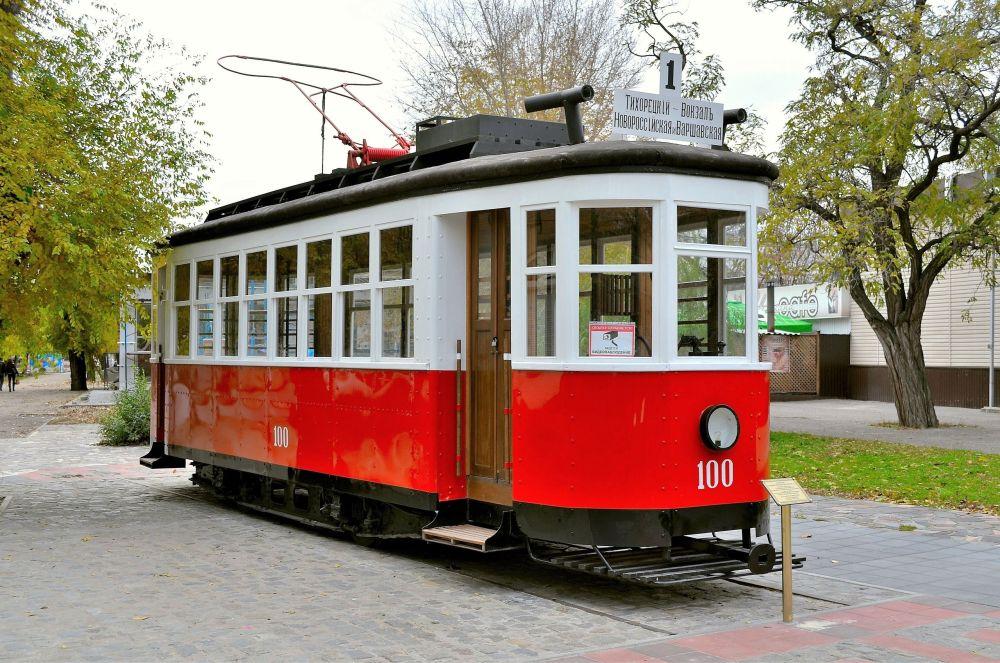 Волгоградский памятник трамваю