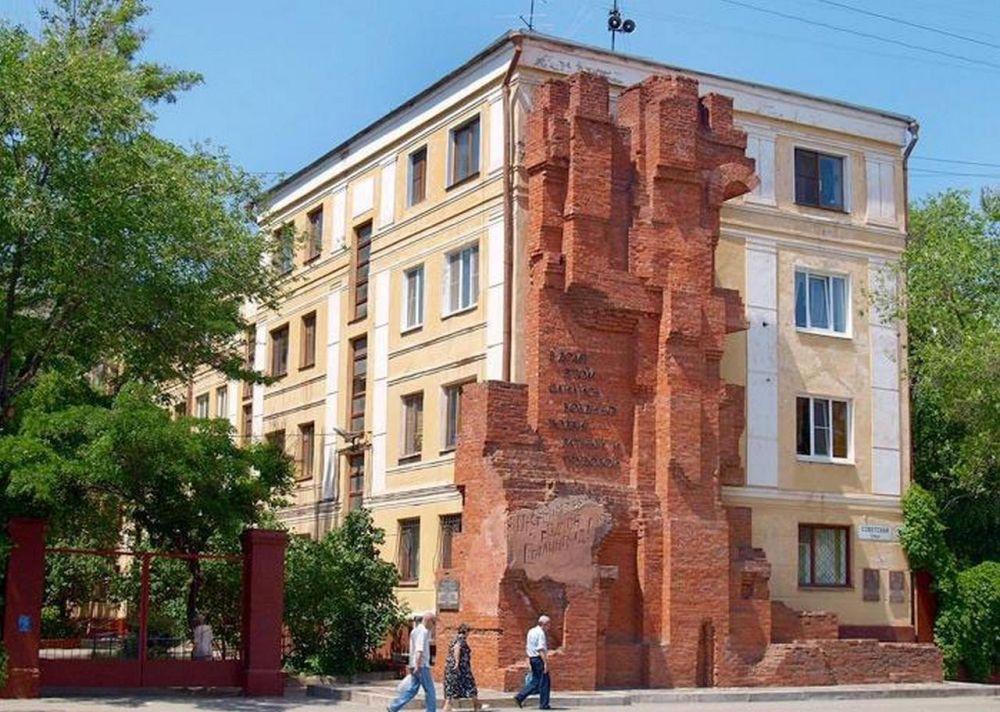 Восстановленный дом Павлова