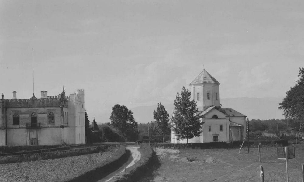 Имение Дадиани, начало 20 века