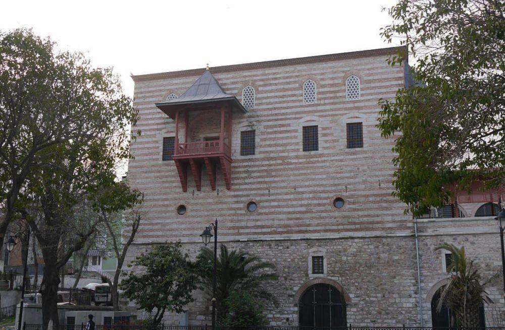 Балкон, на котором бывал султан