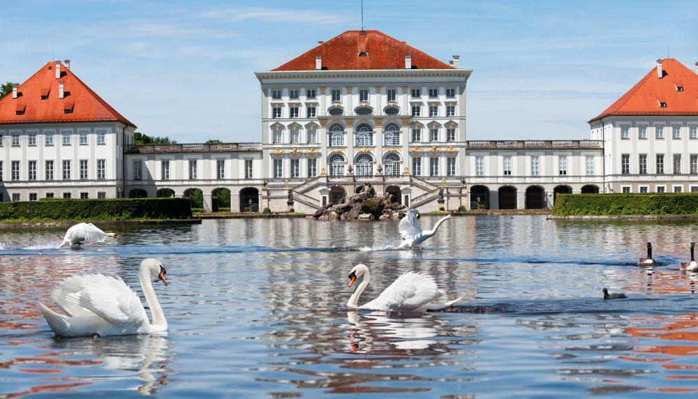 Дворец состоит из женской и мужской частей