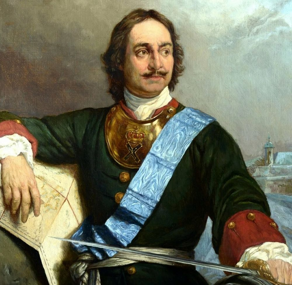 Русский император Петр I