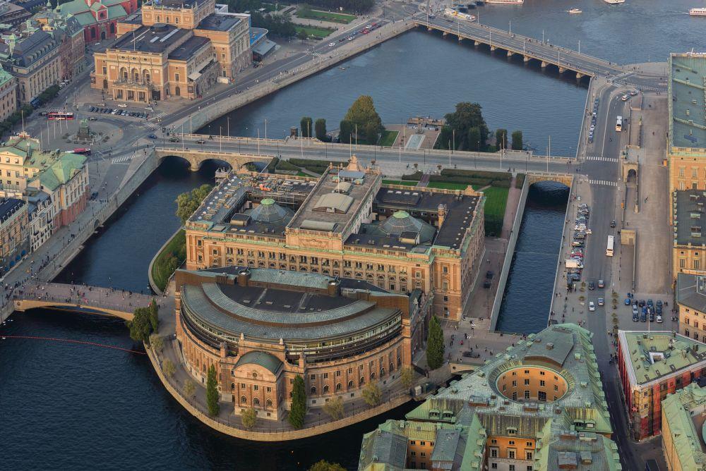 Бывшая резиденция монархов в Стокгольме