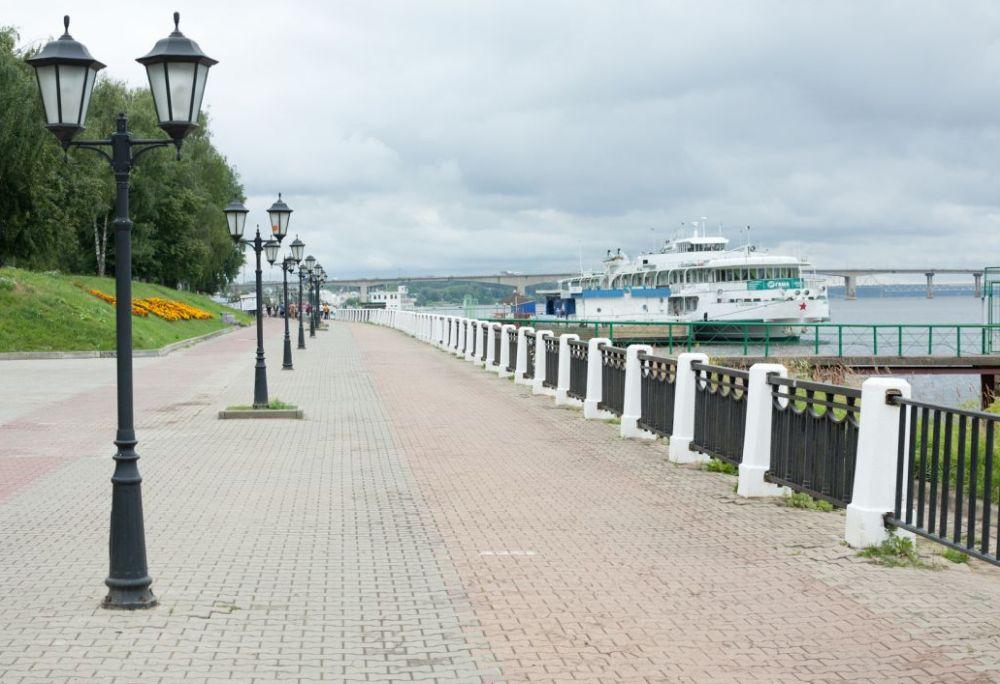Набережная Костромы