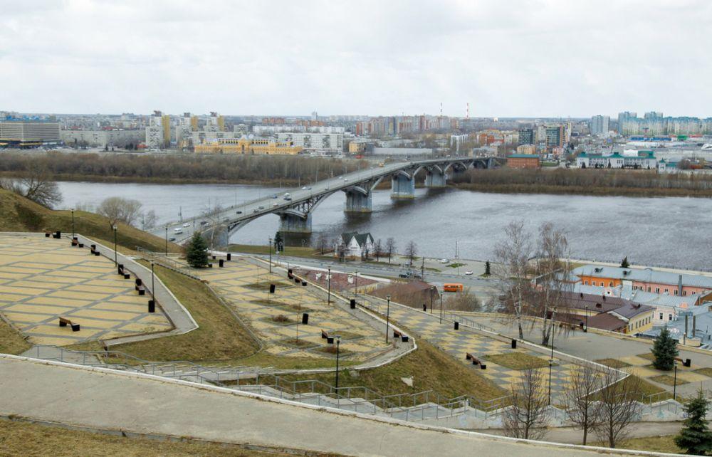 Набережная Федоровского в Нижнем Новгороде
