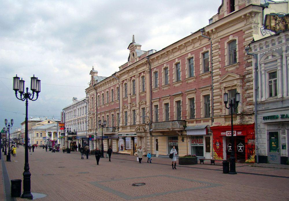 Главная улица Нижнего Новгорода