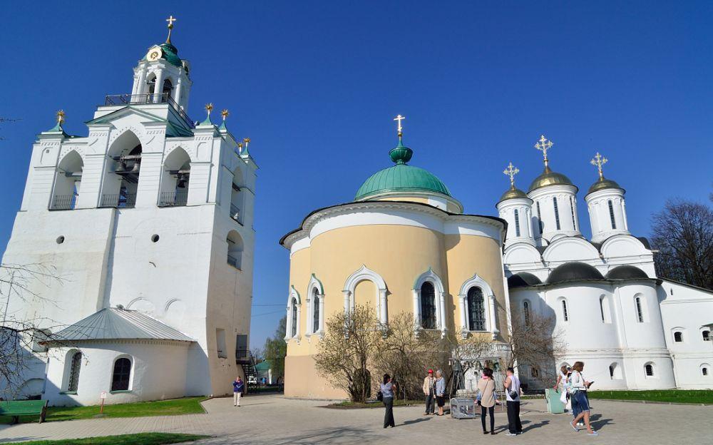 Спасо-Преображенский монастырь, храмы